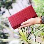 Gucci Monoglam Dáng Dài Màu Đỏ 449396 BMJ1G