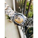 Tissot Couturier Automatic Demi Mặt Tròn Màu Trắng Dây Kim Loại Lịch Ngày T035.207.22.011.00