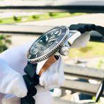 Orient Mako III Automatic Sports Mặt Tròn Dây Cao Su Màu Đen Lịch Ngày Thứ RA-AA0010B09C