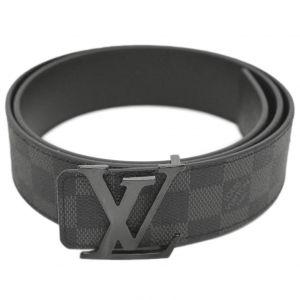 Louis Vuitton Initiales Reversible Xoay Hai Mặt Đen Và Kẻ Ô M0213U