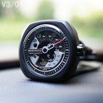 Sevenfriday V-Series Automatic Mặt Vuông Dây Da Màu Đen V3/01