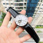 Orient Mechanical Classic Automatic Mặt Tròn Màu Trắng Dây Da Màu Đen RA-AG0009S