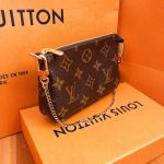 Louis Vuitton Pochette Mini Màu Nâu M58009