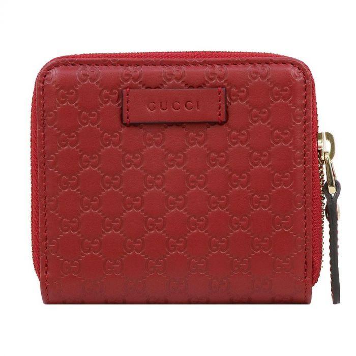 Gucci GG Monoglam Ngắn Màu Đỏ 449395 BMJ1G