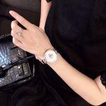 Versace Palazzo Empire Mặt Tròn Dây Kim Loại Màu Bạc VCO090017