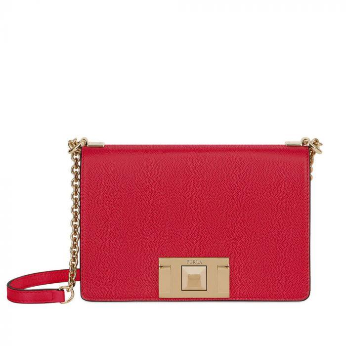 Furla Mimi Crossbody Màu Đỏ Ruby Mini 1031805