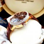 Orient Classic Automatic Mặt Tròn Dây Da Màu Nâu Lịch Ngày Thứ RA-AK0005Y10B