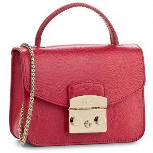 Furla Metropolis Top Handle Mini Màu Đỏ Ruby Size 17