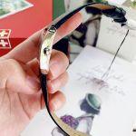 Tissot Generosi Mặt Chữ Nhật Khảm Trai Dây Da Màu Đen Lịch Ngày T105.309.16.126.00