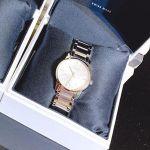 Calvin Klein City Mặt Tròn Dây Kim Loại Màu Bạc K2G23146