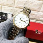 Tissot T-Classic Carson Automatic Demi Gold Mặt Tròn Dây Kim Loại Lịch Ngày T085.407.22.011.00