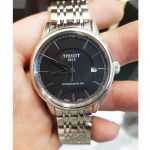 Tissot T-Classic Carson Mặt Tròn Màu Đen Dây Kim Loại Màu Bạc Lịch Ngày T085.407.11.051.00