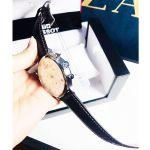 Tissot T-Classic Tradition Chronograph Mặt Tròn Màu Bạc Dây Da Màu Nâu Lịch Ngày T063.617.16.037.00
