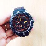 Tissot T-Navigator Automatic Chronograph Mặt Tròn Dây Cao Su Màu Đen Lịch Ngày T062.427.17.057.01