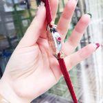 Versace Revive Mirror Demi Vàng Mặt Tròn Dây Da Màu Đỏ VAI220016