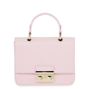 Furla Mini Bella Top Handle Màu Hồng Tím Fresia
