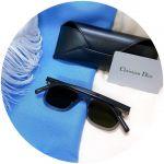 Dior Homme WaIk Mắt Vuông Màu Cam Gọng Nhựa Màu Xám R6S83