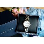 Marc Jacobs Classic Mặt Tròn Dây Kim Loại Màu Bạc MJ3593