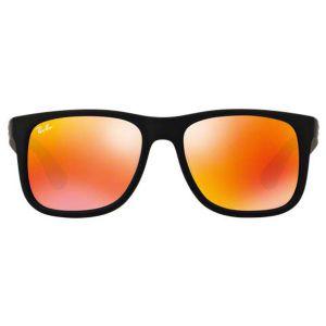Ray-ban Justin Color Mix Mắt Vuông Gọng Nhựa Màu Đen RB4165F 622-6Q