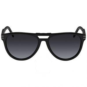 Montblanc Rectangular Sunglasses Mắt Xám Gọng Đen MB699S 01A 57