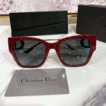 Christian Dior Kinh Mát Mắt Vuông Gọng Kim Loại Dior Montaigne