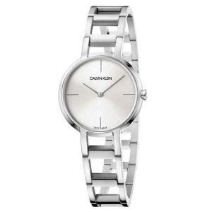 Calvin Klein Cheers Quartz Silver Dây Kim Loại Màu Bạc K8N23146