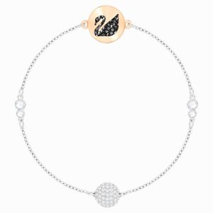 Swarovski Jewellery Remix Mặt Màu Hồng Dây Màu Bạc 5451095