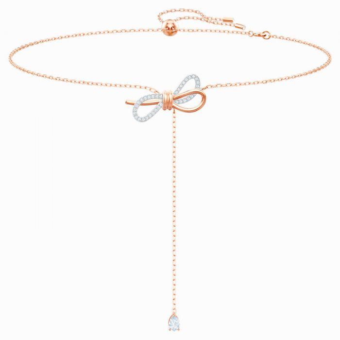 Swarovski Lifelong Bow Y Màu Vàng Hồng 5447082