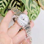 Citizen Jolie Eco-Drive Diamond Viền Kim Cương Dây Kim Loại Màu Bạc EM0690-50D