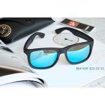 Ray-ban Justin Color Mix Mắt Vuông Gọng Nhựa Màu Đen RB4165F 622/55 55