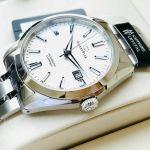Orient Star Automatic Super Anti-Reflective Dây Kim Loại Màu Bạc SDV02003W0