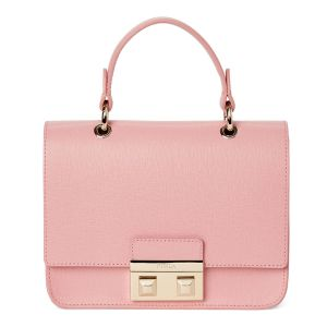 Furla Mini Bella Top Handle Màu Hồng Winter Rose