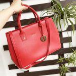 Furla Linda Tote Size S Màu Đỏ Ruby 793550-BBDR5