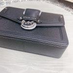 Michael Kors Jessie Medium Pebbled Leather Shoulder Màu Đen 30F9GI6L2L