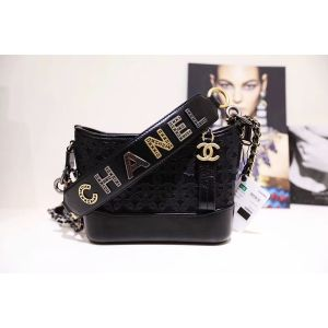 Chanel Gabrielle Small Hobo Bag Màu Đen Quai Xách AS0865