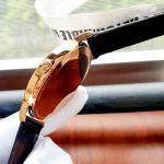 Tissot Everytime Large Dây Da Nâu Viền Vàng Hồng T109.610.36.032.00