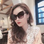 Dolce & Gabbana Kính Mắt Mèo Nâu Gọng Nhựa DG4364