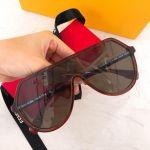 Fendi Red DC Mặt Đỏ Gọng Nhựa FF0377-S-0C9A
