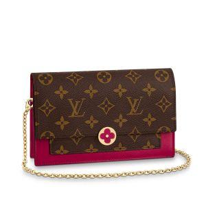 Louis Vuitton Flore Chain Màu Nâu Quai Xách M67404