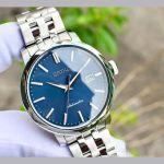 Seiko Automatic Blue Mặt Tròn Dây Kim Loại SRPA25K1