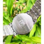 Citizen Stiletto Ultra Thin Mặt Tròn Màu Đen Dây Kim Loại Màu Bạc AR1130-81H