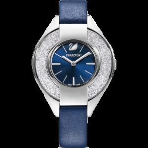 Swarovski Crystalline Sporty Mặt Tròn Dây Da Xanh 5547629