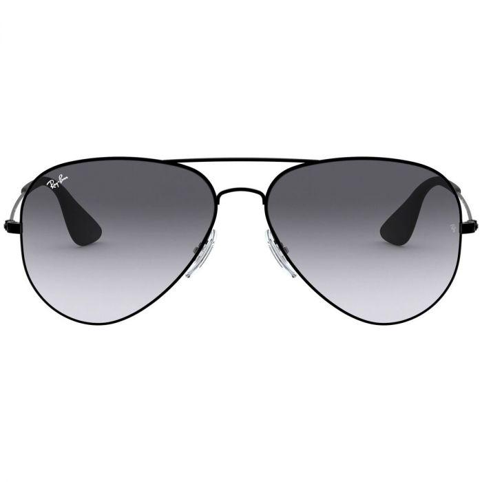 Ray-ban Sunglasses Mắt Màu Xám Gọng Kim Loại Màu Đen RB3558 002/8G 58