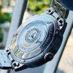 Montblanc Meisterstuck Heritage Automatic Moonstruck Mặt Tròn Dây Kim Loại Màu Bạc Lịch Ngày 111184