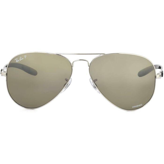 Ray-ban Polarized Silver Mirror Chromance Gọng Kim Loại RB8317CH 003/5J 58