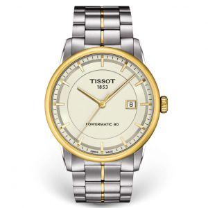 Tissot Luxury Powermatic 80 Mặt Tròn Dây Demi T086.407.22.261.00