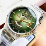 Orient Automatic Mặt Xanh Lịch Vạn Niên FEU00002FW