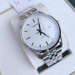 Calvin Klein Infinite Automatic Silver Mặt Trắng Dây Kim Loại Màu Bạc K5S3414X