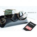 Ray-ban Classic G-15 Mắt Tròn Màu Xám Gọng Kim Loại Màu Vàng RB3648 001 54