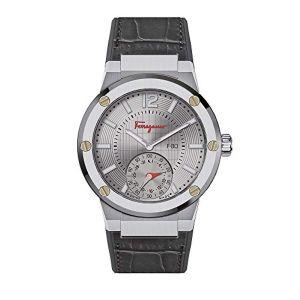 Salvatore Ferragamo F80 Motion Smartwatch Mặt Tròn Dây Da FAZ040017